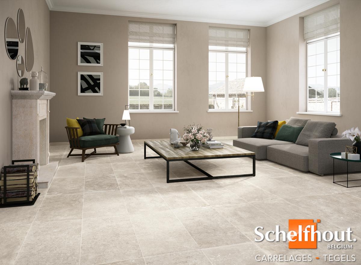 Schelfhout - Inspiration Carrelage – Pièces de séjour / Salon