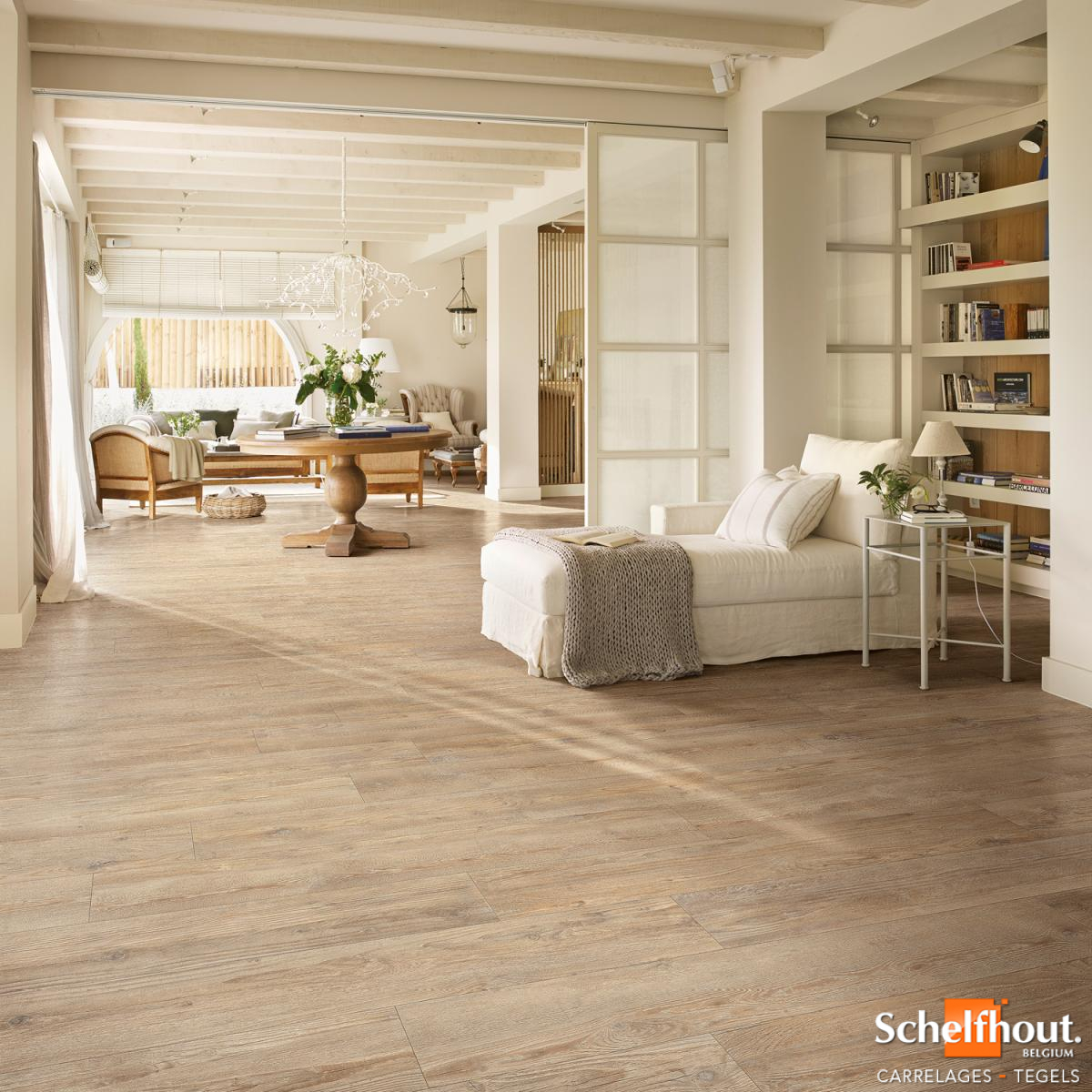 Carreaux De Ciment Parquet Bois schelfhout - carrelages bois – parquet céramique