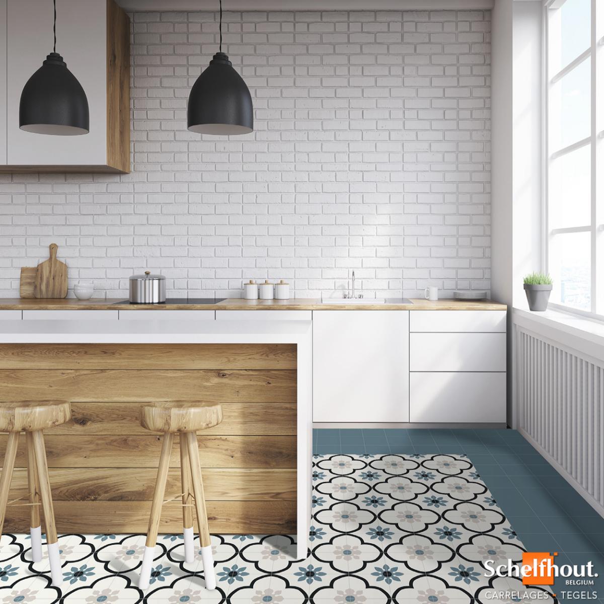 Schelfhout Carreaux De Ciment Et Imitations Style Vintage