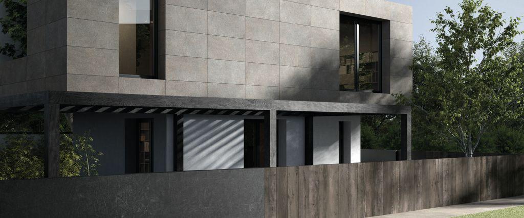 Schelfhout Habillage De Facade Avec Des Carrelages Pour L Exterieur